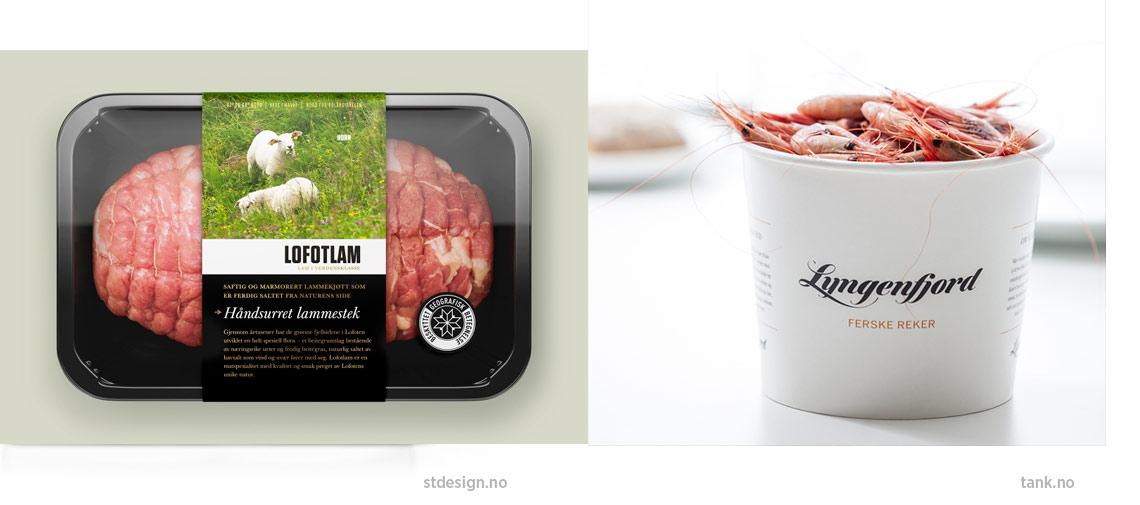 Gode eksempler fra Strømme Throndsen design (Lofotlam) og Tank (Lyngenfjord)