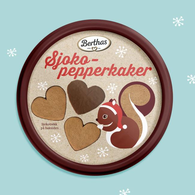 Berthas Sjoko-pepperkaker